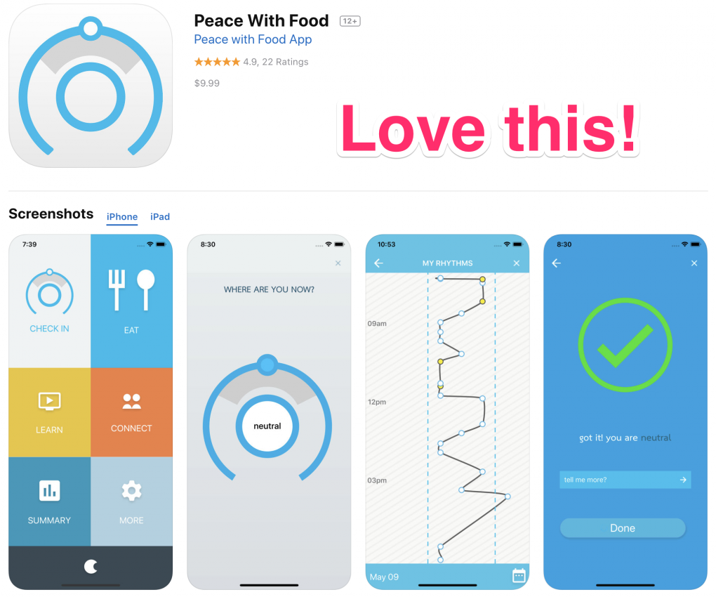 Peace with Food App